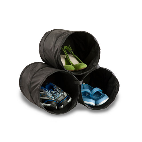 Honey-Can-Do® Set of 3 Shoe Storage Tubes