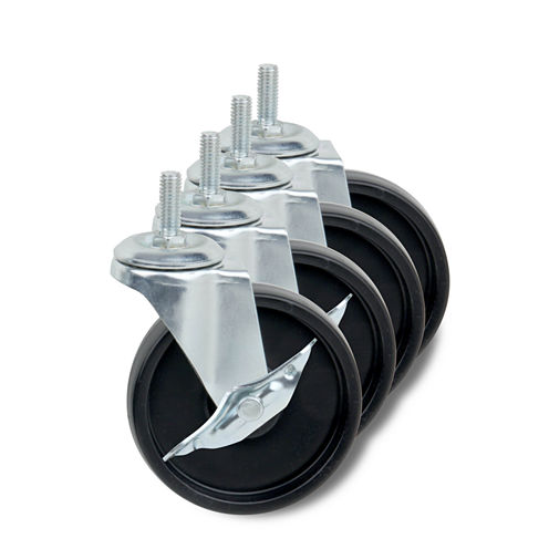 Honey-Can-Do® Set of 4 Caster Wheels