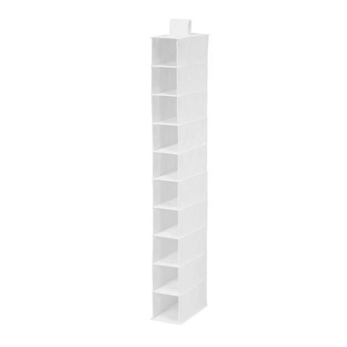 Honey-Can-Do® 10-Shelf Vertical Hanging Shoe Organizer