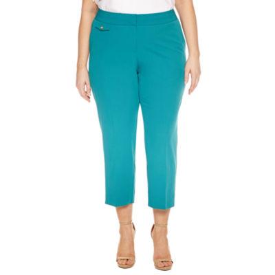 Worthington Cropped Pants-Plus