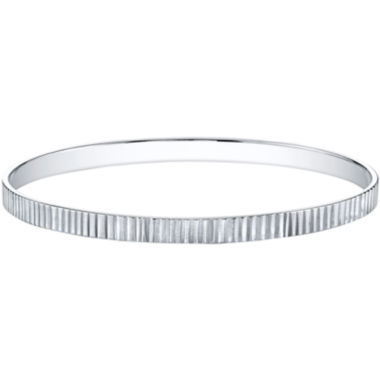 jcpenney.com | DOWNTOWN BY LANA Silver-Tone Rivets Bangle