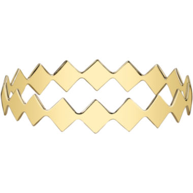 jcpenney.com | DOWNTOWN BY LANA Gold-Tone Diamond-Shaped Bangle