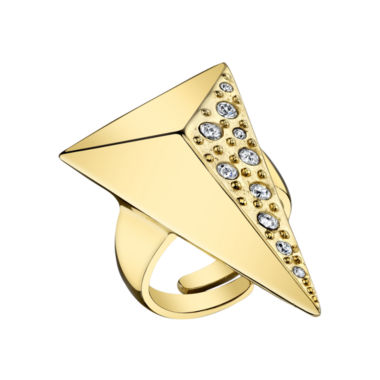 jcpenney.com | DOWNTOWN BY LANA Gold-Tone Half-Pyramid Ring
