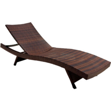 jcpenney.com | Outdoor Wicker Chaise Lounge