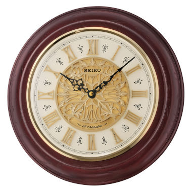jcpenney.com | Seiko® Musical Wall Clock With 18 Hi Fi MelodiesQxm295blh