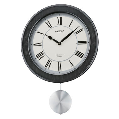 jcpenney.com | Seiko® Musical Wall Clock With Pendulum And 12 HiFi Melodies And Chime Qxm345klh