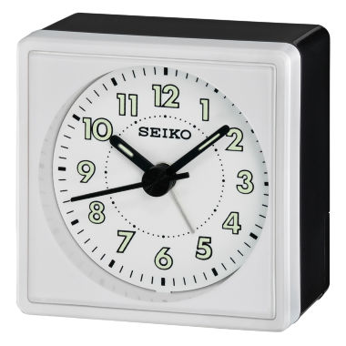 jcpenney.com | Seiko® Bedside Alarm With Beep Alarm White ClockQhe083wlh