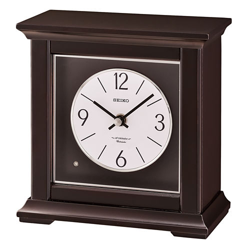 Seiko® Dark Musical Desk/table Clock Qxw245blh