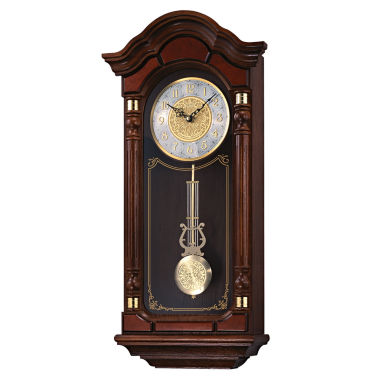 jcpenney.com | Seiko® Solid Oak Chime Wall Clock with Pendulum