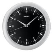 Seiko® Silver Wall Clock Qxa137klh