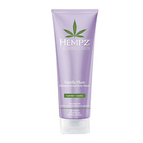 Hempz® Vanilla Plum Relaxing Herbal Body Wash - 8.5 oz.
