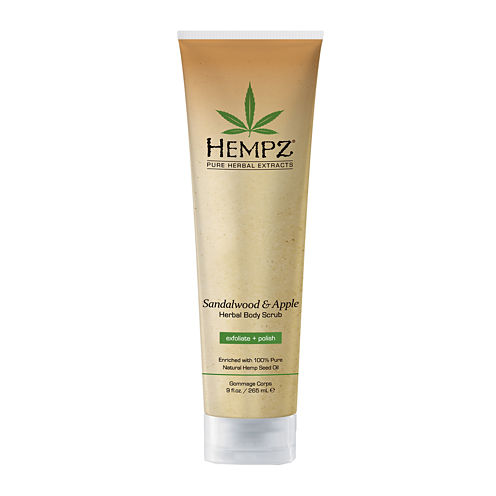 HEMPZ® Sandalwood & Apple Herbal Body Scrub - 9 oz.