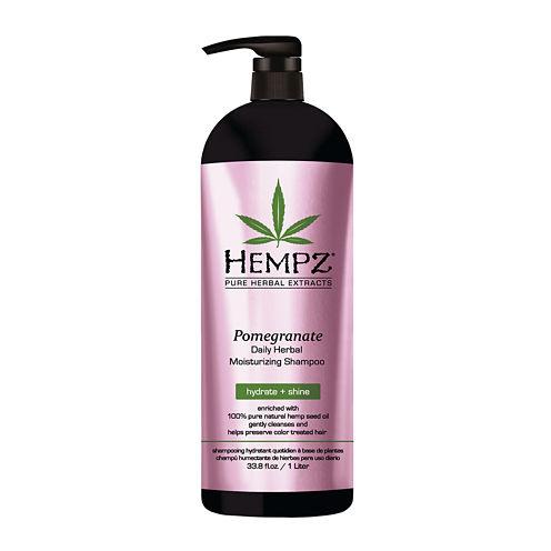 HEMPZ® Pomegranate Daily Herbal Moisturizing Shampoo - 33 oz.