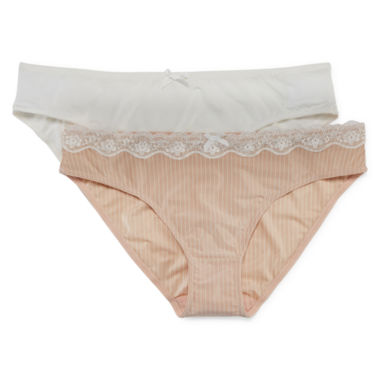 jcpenney.com | Marie Meili Carla 2-pk. Brief Panties