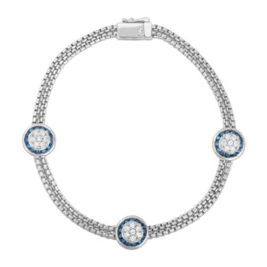 jcpenney.com | LIMITED QUANTITIES 1 CT. T.W. Diamond Sterling Silver Bracelet