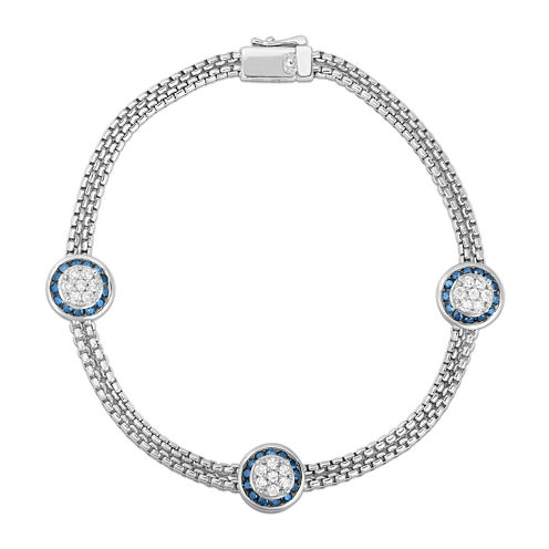 LIMITED QUANTITIES 1 CT. T.W. Diamond Sterling Silver Bracelet