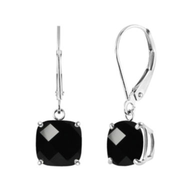 jcpenney.com | Genuine Black Onyx Sterling Silver Dangle Earrings