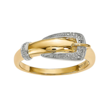 jcpenney.com | Diamond Accent 14K Yellow Gold Ring