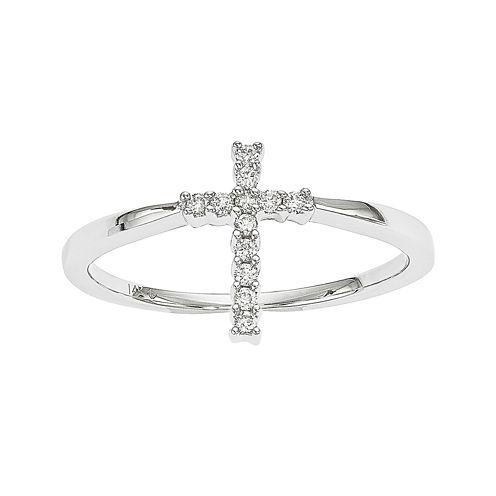 Diamond Accent 14K White Gold Ring