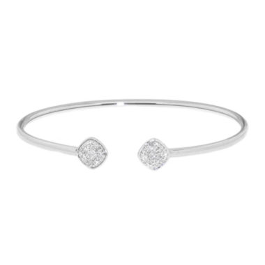 jcpenney.com | Diamond In Sterling Silver Bangle Bracelet