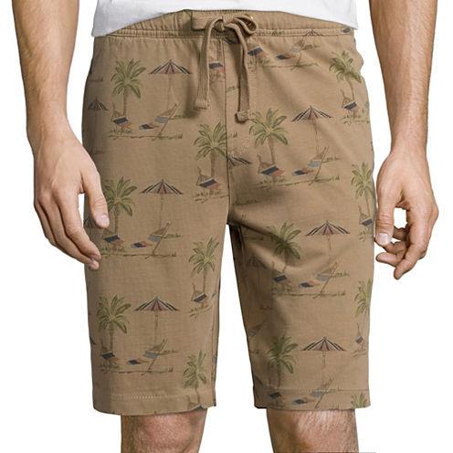 Olde School Hammock Printed Jogger Shorts