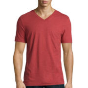 Arizona Fashion Short-Sleeve V-Neck Tee