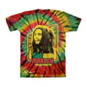 Bob Marley Short-Sleeve Tie-Dye Tee