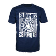 Blink 182 Short-Sleeve Crewneck Tee