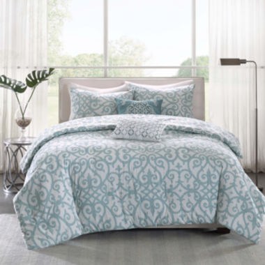 jcpenney.com | Madison Park Pure Lucia 5-pc. Reversible Duvet Set