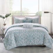 Madison Park Pure Lucia 5-pc. Reversible Duvet Set