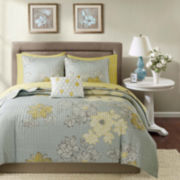 Madison Park Morrisson Complete Coverlet and Bedding Set