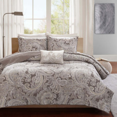 jcpenney.com | Madison Park Racine 4-pc. Coverlet Set