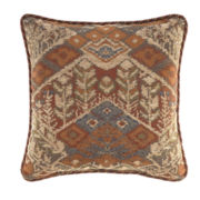 "Croscill Classics® Corbyn 18"" Square Decorative Pillow"
