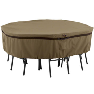 jcpenney.com | Classic Accessories® Hickory Large Round Table & 4-Chair Cover