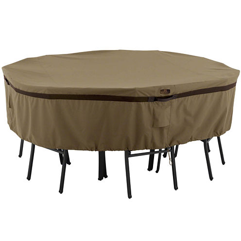 Classic Accessories® Hickory Large Round Table & 4-Chair Cover