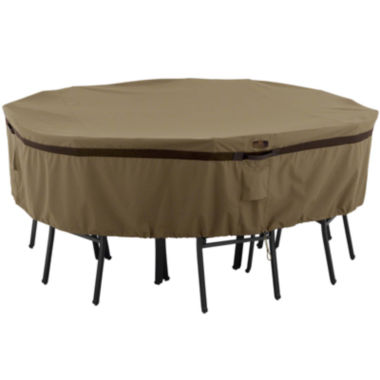jcpenney.com | Classic Accessories® Hickory Medium Round Table & 4-Chair Cover