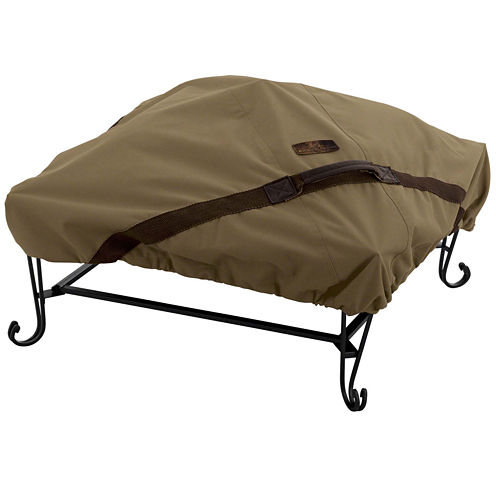 Classic Accessories® Hickory Square Fire Pit Cover