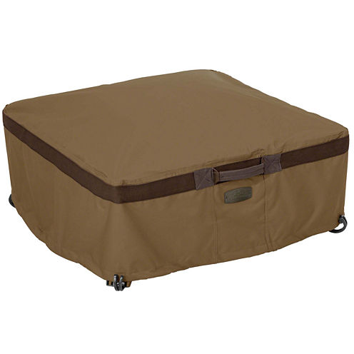 Classic Accessories® Hickory Small Square Full Coverage Fire Pit Cover