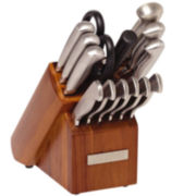 Sabatier® 15-pc. Stainless Steel Knife Set