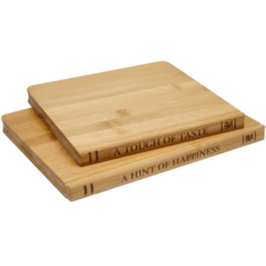 jcpenney.com | Sabatier® Library 2-pc. Bamboo Cutting Board Set