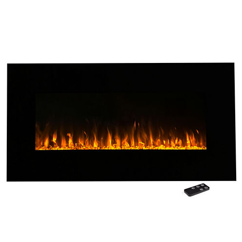 """36"""" Wall Mount Electric Fireplace"""