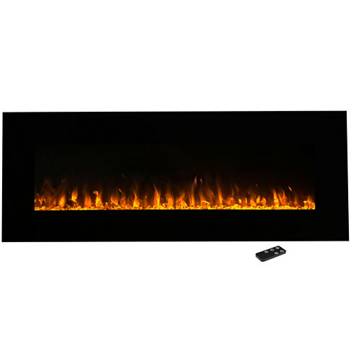 "54"" Wall Mount Electric Fireplace"