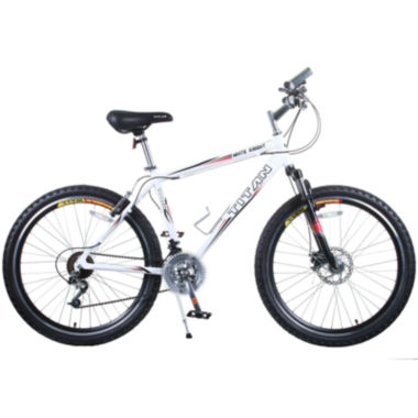 "jcpenney.com | Titan® White Knight Alloy 26"" Mountain Bike"
