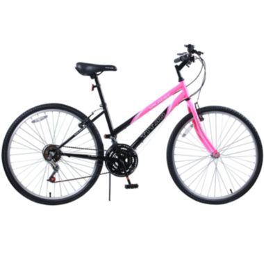 jcpenney.com | Titan® Wildcat Women's 12-Speed Bubblegum Pink & Black Mountain Bike