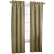 Sun Zero™ Dion Rod-Pocket Thermal Room-Darkening Curtain Panel