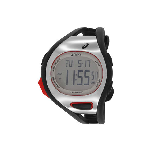 Asics Black/White Ar07 Runner Unisex Multicolor Strap Watch-Cqar0701y