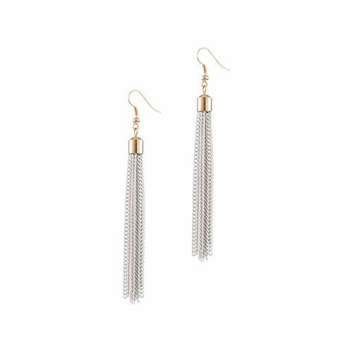 Jardin Brass Drop Earrings