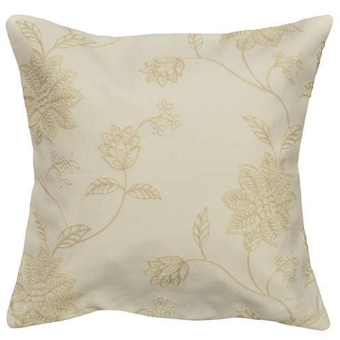 """20"""" Jaylynn Floral Decorative Pillow"""