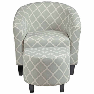 Petite Chair home meridian petite chair + ottoman set - jcpenney