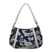 Liz Claiborne® City Top-Zip Shoulder Bag
